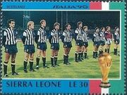 Sierra Leone 1990 Football World Cup in Italy m