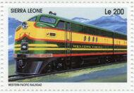 Sierra Leone 1995 Railways of the World i