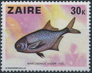Zaire 1978 Fishes f