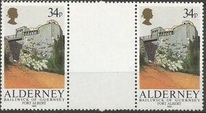 Alderney 1986 Alderney Forts GPd
