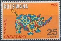 Botswana 1970 Christmas o