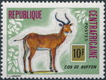 Central African Republic 1975 Wild Animals a