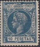 Elobey, Annobon and Corisco 1903 King Alfonso XIII r