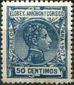 Elobey, Annobon and Corisco 1907 King Alfonso XIII i.jpg