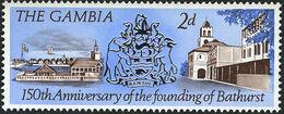 Gambia 1966 150th Anniversary of the Founding of Bathurst b