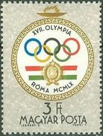 Hungary 1960 Summer Olympic Games - Rome 1960 j