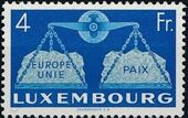 Luxembourg 1951 European Agreement f