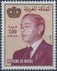 Morocco 1987 King Hassan II d