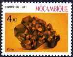 Mozambique 1987 Minerals of Mozambique (2nd Group) a