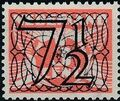 Netherlands 1940 Numerals - Stamps of 1926-1927 Surcharged c.jpg