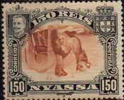 Nyassa Company 1901 D. Carlos I (Giraffe and Camels) x