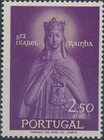 Portugal 1958 Queen St. Isabella and St. Theotonius c