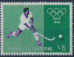 San Marino 1960 17th Olympic Games in Rome g