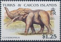 Turks and Caicos Islands 1991 Extinct Animals g