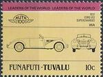 Tuvalu-Funafuti 1984 Leaders of the World - Auto 100 (1st Group) g