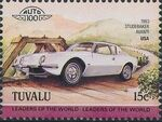 Tuvalu 1984 Leaders of the World - Auto 100 (1st Group) h