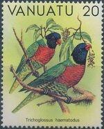 Vanuatu 1982 Birds b
