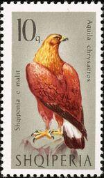 Albania 1966 Birds of Prey a