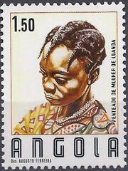 Angola 1987 Traditional Hairstyles b