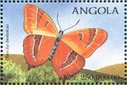 Angola 1998 Butterflies (3rd Group) g