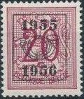 Belgium 1955 Heraldic Lion with Precancellations c