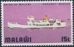 Malawi 1975 Lake Malawi Ships c