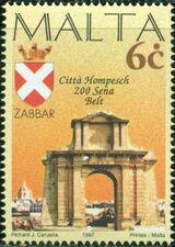 Malta 1997 Maltese City Anniversaries a