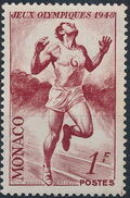 Monaco 1948 Summer Olympics, London - Regular Stamps b