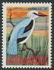 Mozambique 1987 Birds of Moçambique (Third Issue) b