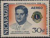 Nicaragua 1958 17th Convention of Lions International of Central America (Air Post Stamps) a