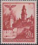 Poland-General Government 1940 Buildings (1st Group) f