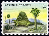 St Thomas and Prince 1982 Dinosaurs f