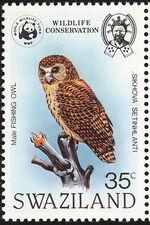 Swaziland 1982 WWF Pel's Fishing Owl a
