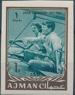 Ajman 1964 President Kennedy l