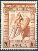 Angola 1938 Portuguese Colonial Empire p