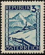 Austria 1945 Landscapes (I) a