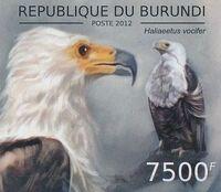 Burundi 2012 Birds of prey n