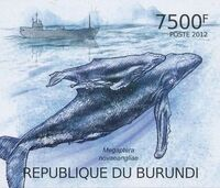 Burundi 2012 Protection of Nature - Save the Whales n