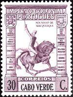 Cape Verde 1938 Portuguese Colonial Empire f