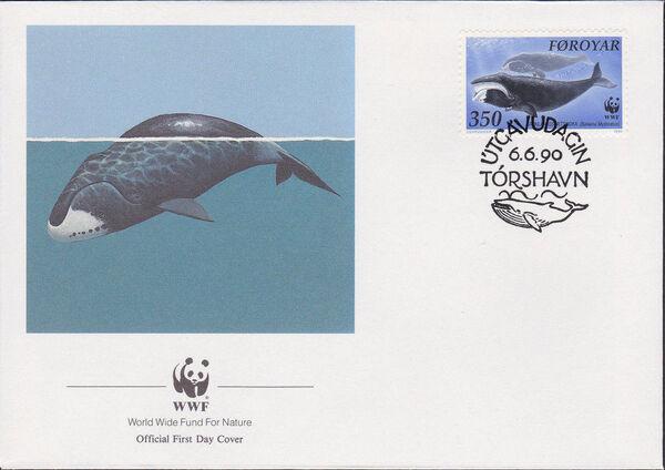 Faroe Islands 1990 WWF - Whales i
