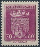 France 1941 Coat of Arms (Semi-Postal Stamps) c