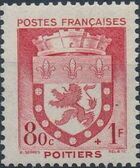 France 1942 Coat of Arms (Semi-Postal Stamps) d