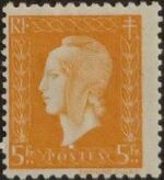 France 1945 Marianne de Dulac (2nd Issue) o