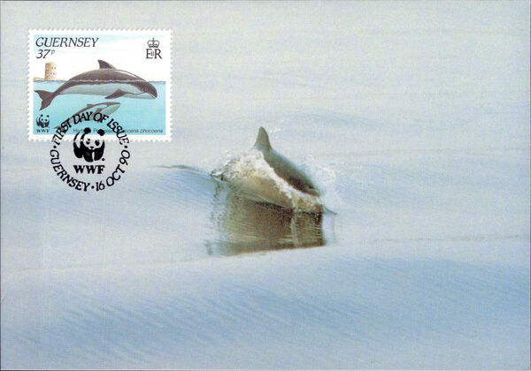 Guernsey 1990 WWF Marine Life t