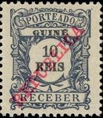 Guinea, Portuguese 1911 Postage Due Stamps b