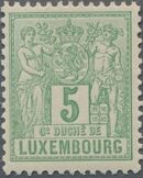 Luxembourg 1882 Industry and Commerce d