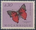 Mozambique 1953 Butterflies and Moths d