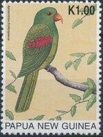 Papua New Guinea 1996 Parrots e