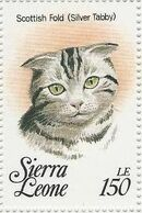 Sierra Leone 1993 Cats of the World t