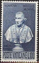 Vatican City 1958 Bicentenary of the Birth of Antonio Canova d